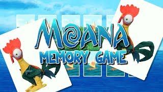 Moana Memory Game | Part 1 | WigglePop | Games for Kids | Kids Having Fun