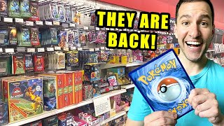 POKEMON CARDS ARE BĄCK IN STORES! Trip To Target!
