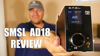 SMSL AD18 Review and Sound Demo with Micca MB42X Speakers
