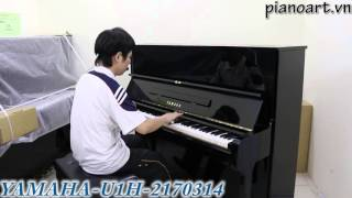 [Bán Piano] Pianoart giới thiệu đàn piano YAMAHA U1H - 2170314 - Trường Chúng Cháu Là Trường Mầm Non