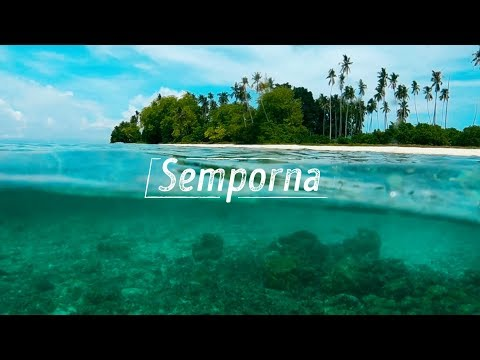 Island hopping in Semporna// The heaven for diving, snorkeling