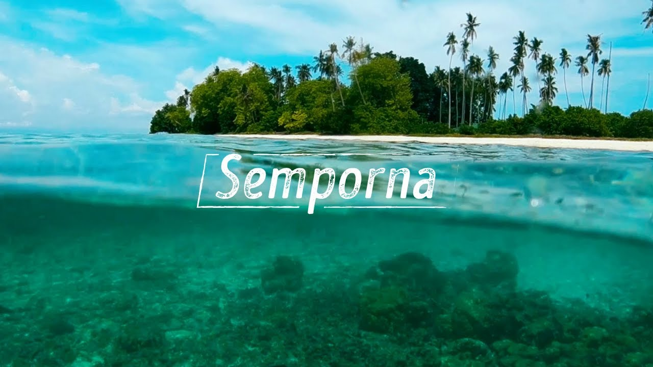 Island hopping in Semporna // The heaven for diving, snorkeling