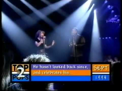 HQ Mariah Carey & Luther Vandross  Endless Love   Top of The Pops