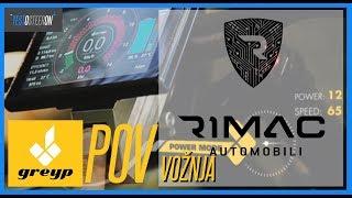 VOŽNJA RIMAC /// Greyp G12 ///POV