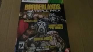 BORDERLANDS triple pack unboxing