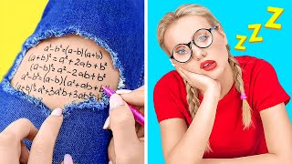AMAZING DIY SCHOOL HACKS || Easy Hacks and Crafts For Back To School! by 123