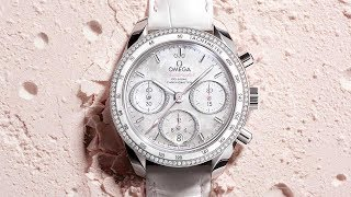 OMEGA Speedmaster 38mm - white mother-of-pearl dial