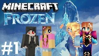 ❄ Minecraft Escape - FROZEN (1/2) -  Na ratunek Annie i Elsie! ❄