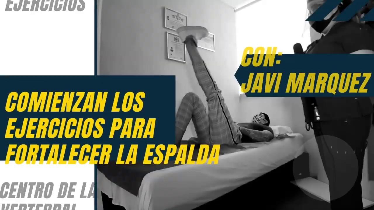 TE ENSEÑAMOS 5 EJERCICIOS PARA FORTALECER LOS MUSCULOS DE LA ESPALDA CON NUESTRO AMIGO: JAVI MARQUEZ