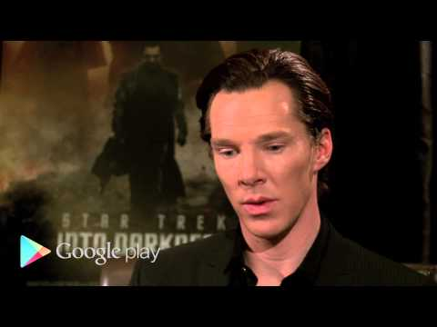 Google Play Presents Star Trek Into Darkness: Behind the Scenes with Benedict Cumberbatch