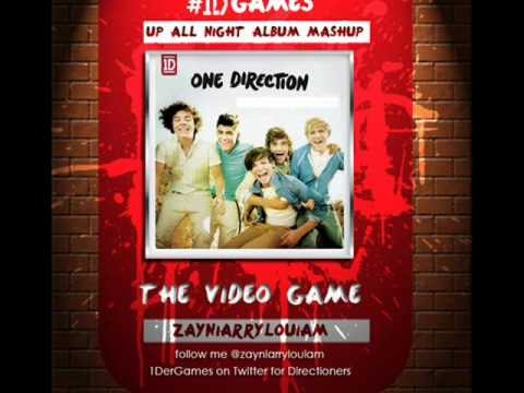 One Direction - Up All Night Album Mashup Cover - YouTubeOne Direction Over Again Album Cover