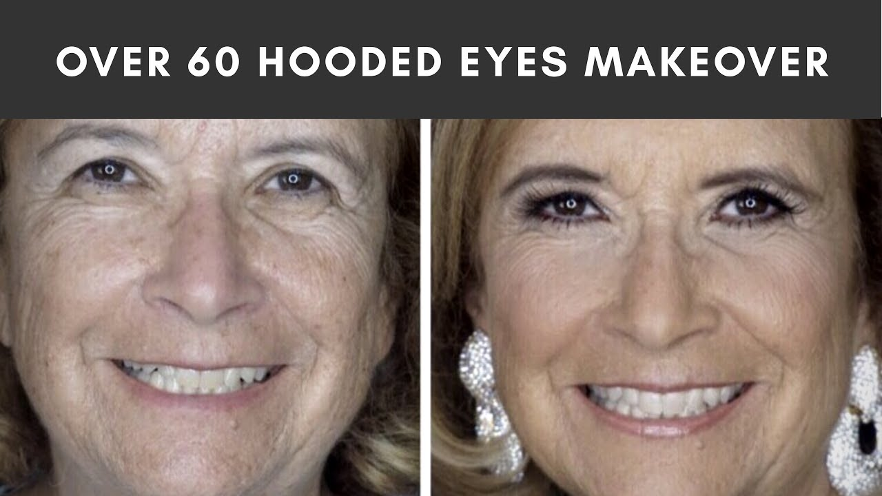 Makeover On My Mom Over 60 Mature Skin Hooded Eye Makeup