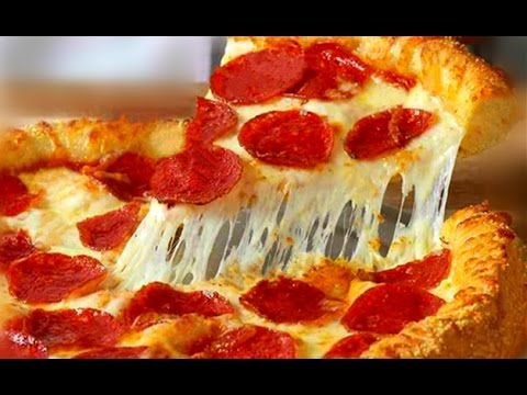 Homemade Pepperoni Pizza and Fluffy Pizza Bread Dough Recipe