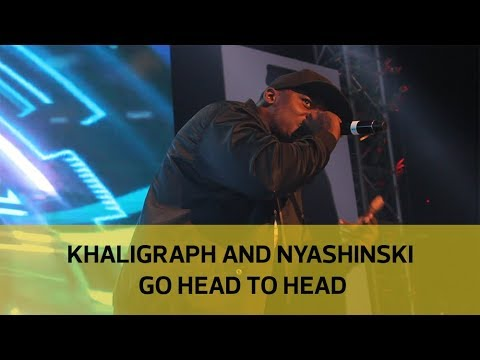 Khaligraph and Nyashinski go head to head