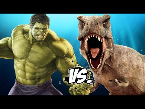 HULK VS T-REX - EPIC BATTLE
