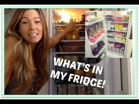 What's In My Fridge | Sept 9 | ANNA VICTORIA