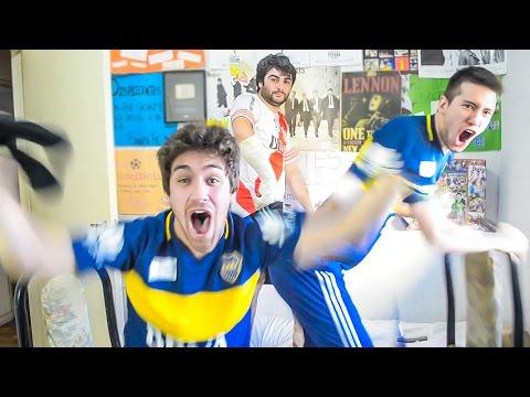 River 2 Boca 4   Superclásico Torneo Argentino 2016   Reacciones de amigos