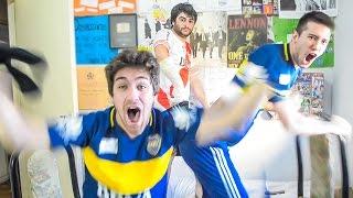 River 2 Boca 4   2016 Argentinian Tournament's Superclassic   Friends Reactions