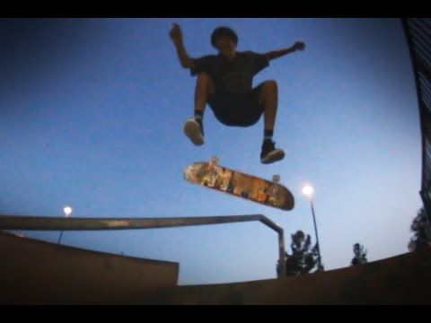 Park Handrail Sunset Slaughter - Genesis Atkins and Adrian McCoy
