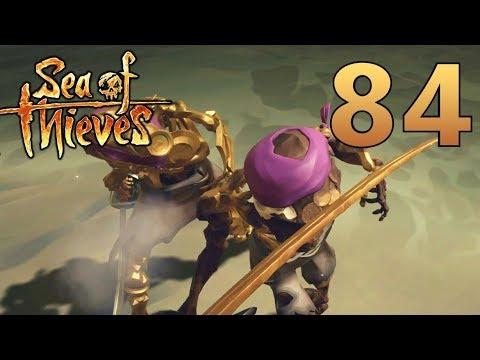 [84] Seafaring Science! Sword Vs Gold Skeleton?!? (Sea Of Thieves Gameplay PC)