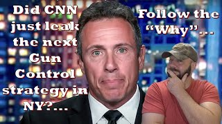 Did CNN just slip out the next Gun Control plan for Dem Cities?... Supreme Court made them slip?...