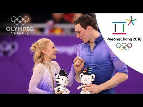 Savchenko and Massot discuss Pairs Figure Skating gold medal | Winter Olympics 2018 | PyeongChang