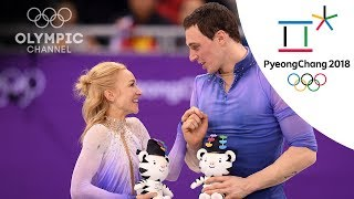 Savchenko and Massot discuss Pairs Figure Skating gold medal | Winter Olympics 2018 | PyeongChang