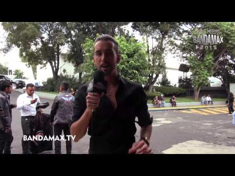 Roberto Carlo ya listo en Premios Bandamax