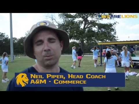 Head soccer coach Neil Piper talks about the upcoming season