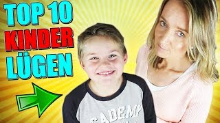 10 LÜGEN, die Kinder ihren Eltern erzählen (+ Outtakes)  😇  TipTapTube 😁 Familienkanal 👨👩👦👦
