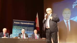 Konwencja wyborcza PiS w Łasku cz.2