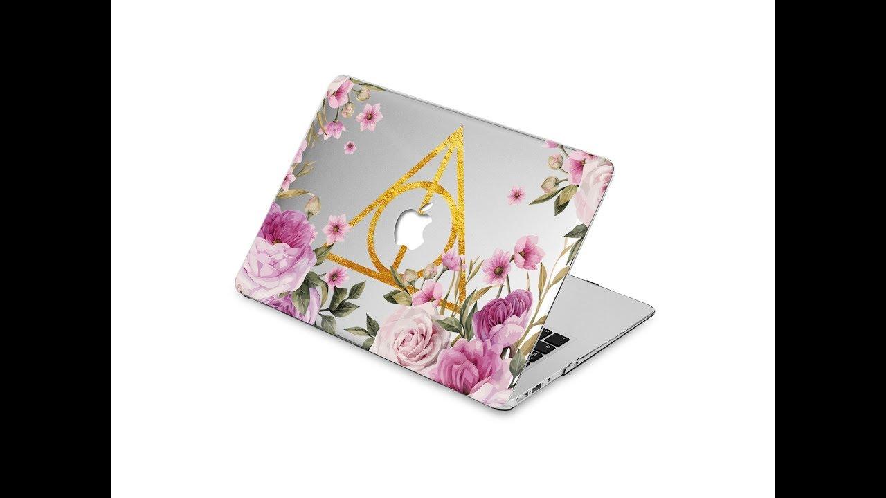 low priced ea463 e44ec Harry Potter Macbook case Flower macbook air 11 Macbook pro Case macbook  air 13 hard case Flowers Ma