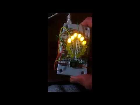 Memsic 2125 accelerometer + Arduino Leonardo