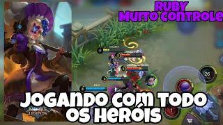 RUBY | MÃE DO CONTROLE DE GRUPO - MOBILE LEGENDS