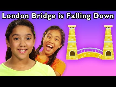 London Bridge Is Falling Down And More   FUN GROUP GAME   Baby Songs From Mother Goose Club!