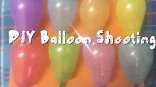 Bored kids during Summer - Summer Activities part 1/ DIY Balloon Shooting