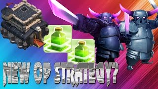 Clash Of Comedy! New Op Clash of Clans Strategy
