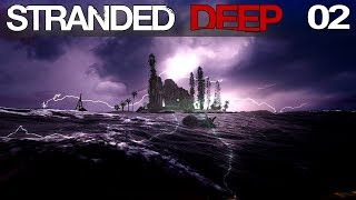 🌴 Stranded Deep #02 | Megasturm auf hoher See | Gameplay German Deutsch thumbnail