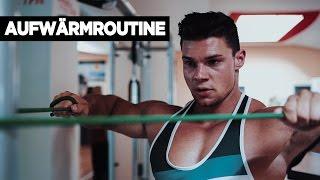 Aufwärmübungen - aufwärmen vor dem Training / Meine Warm-up Routine | SMARTGAINS
