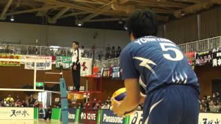 Volleyball 譚ア繝ャ vs 繧オ繝ウ繝医Μ繝シ-1 V繝励Ξ繝溘い繝ェ繝シ繧ー繝舌Ξ繝シ繝懊�シ繝ォ 2013.3.9