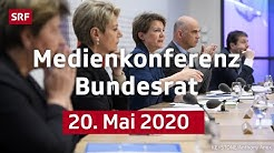 Medienkonferenz des Bundesrats - 20. Mai 2020 | LIVE | SRF News