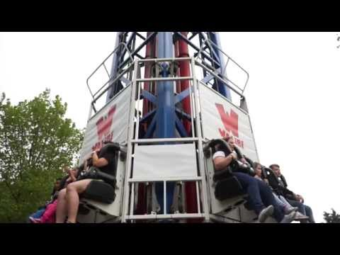 Space Shot Walibi Holland (SixFlags Holland) Freefall Tower off-ride