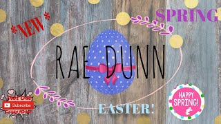 RAE DUNN || SPRING || EASTER || DECORATE/CLEAN WITH ME!!!