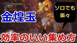 【MHW】マム・タロト 金煌玉を効率よく集める方法 thumbnail