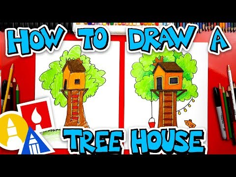 how-to-draw-a-treehouse