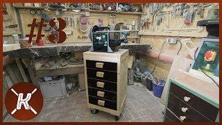 werkzeugwagen selber holz bauen more than big. Black Bedroom Furniture Sets. Home Design Ideas