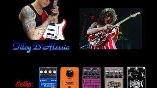 Get The Eddie Van Halen Sound & Tone ...  Guitar Improvisation - Tiloy D'Alessio