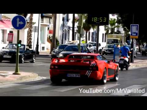 Exotic Super Cars of Marbella 2013