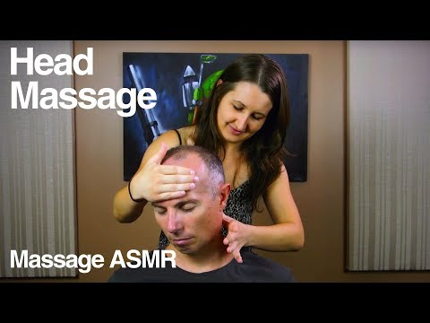 ASMR Head, Neck & Shoulders Massage - No Talking