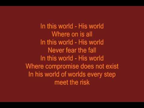 Crush 40 - His World lyrics